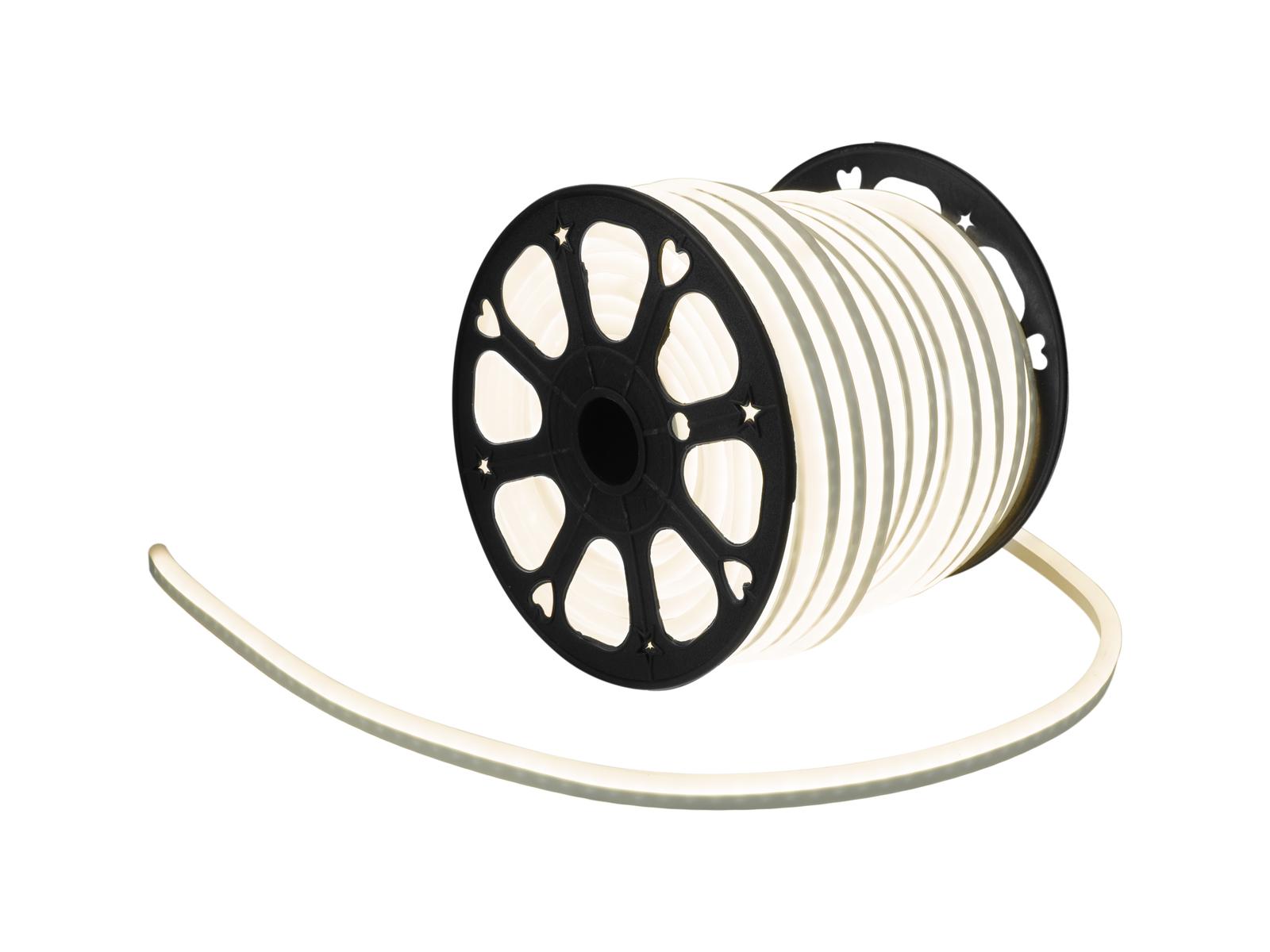 EUROLITE LED Neon Flex 230V Slim bianco caldo 100cm