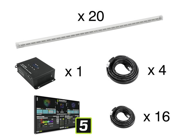mpn20000117-eurolite-set-20x-led-pixel-pole-100cm-+-led-psu-4a-+-madrix-key-entry-MainBild