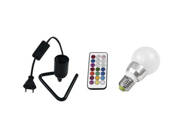 mpn20000276-eurolite-set-led-a60-230v-5w-e27-multicolor-rc-+-triangle-base-black-MainBild