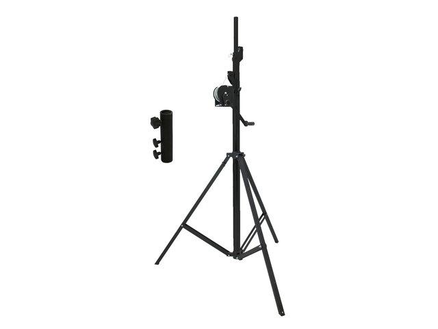 mpn20000328-eurolite-set-stt-400-85-winch-stand-tuev-gs-black-+-stv-3529-adapter-long-MainBild