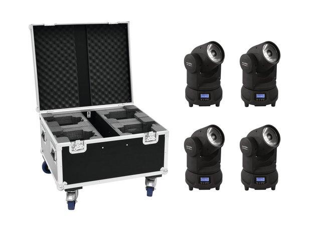 mpn20000357-eurolite-set-4x-led-tmh-x1-moving-head-beam-+-case-MainBild