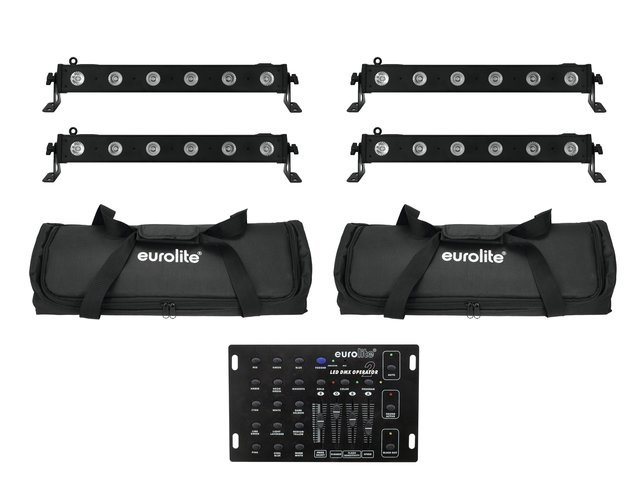 mpn20000402-eurolite-set-4x-led-bar-6-qcl-rgba-+-2x-soft-bag-+-controller-MainBild
