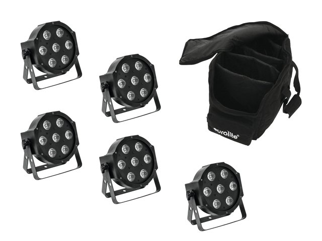 mpn20000427-eurolite-set-5x-led-sls-7-hcl-spot-+-soft-bag-MainBild