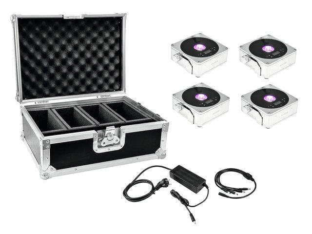 mpn20000443-eurolite-set-4x-akku-ip-flat-light-1-chrome-+-case-+-charger-MainBild