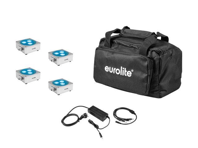 mpn20000475-eurolite-set-4x-akku-flat-light-3-sil-+-charger-+-soft-bag-MainBild