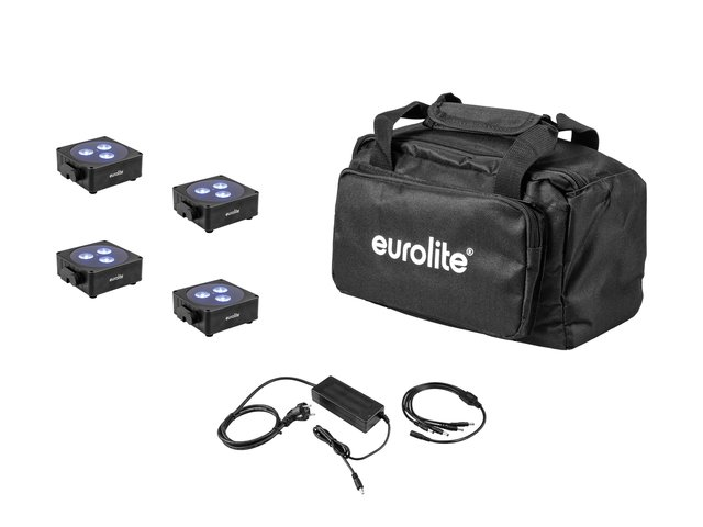 mpn20000476-eurolite-set-4x-akku-flat-light-3-bk-+-charger-+-soft-bag-MainBild