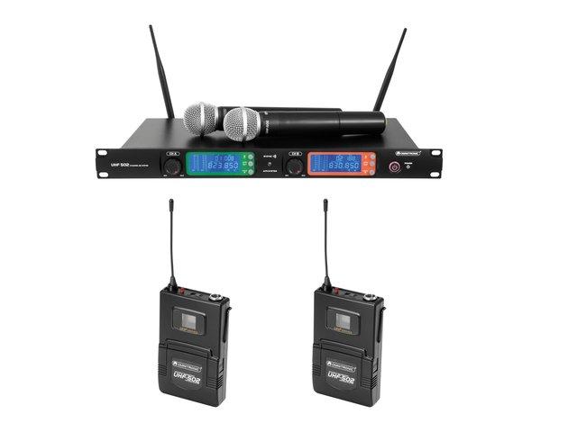 mpn20000523-omnitronic-set-uhf-502-empfaenger-+-2x-sender-823-832-mhz-MainBild