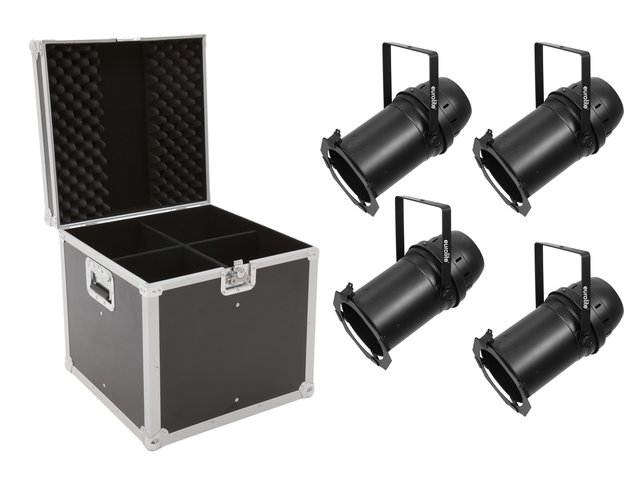 mpn20000573-eurolite-set-4x-led-par-64-cob-3000k-100w-zoom-bk-+-case-MainBild