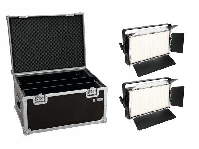 mpn20000600-eurolite-set-2x-led-pll-360-3200k-panel-+-case-MainBild