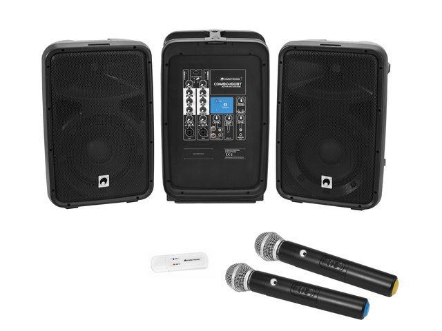 mpn20000634-omnitronic-set-combo-160bt-active-pa-system-+-uwm-2hh-usb-wireless-mic-set-MainBild