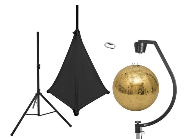 mpn20000707-eurolite-set-mirror-ball-50cm-gold-with-stand-and-tripod-cover-black-MainBild