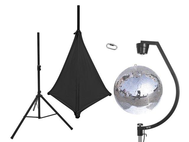 mpn20000708-eurolite-set-spiegelkugel-50cm-mit-stativ-und-segel-schwarz-MainBild