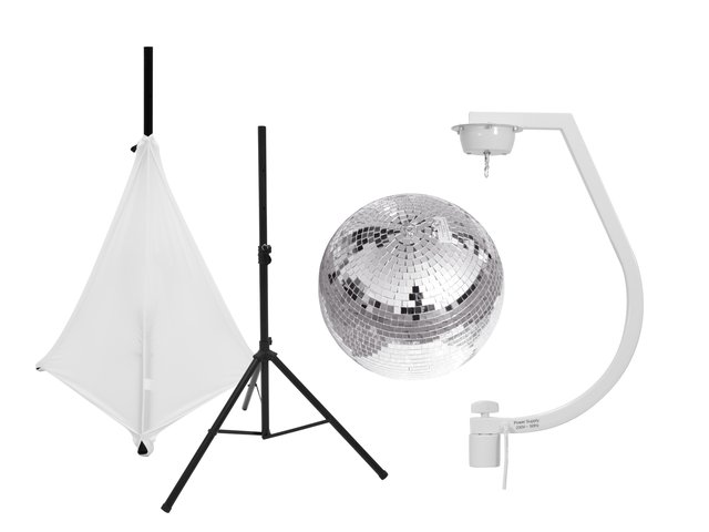 mpn20000711-eurolite-set-mirror-ball-30cm-with-stand-and-tripod-cover-white-MainBild
