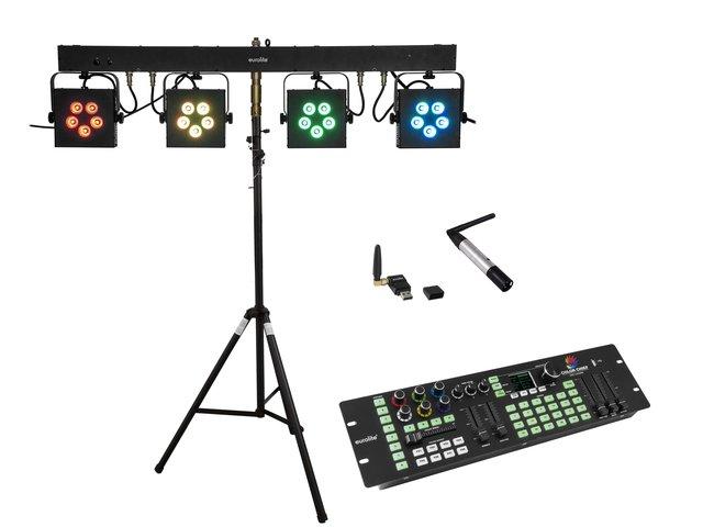 mpn20000720-eurolite-set-led-kls-902-+-controller-+-stv-40s-wot-stahlstativ-MainBild