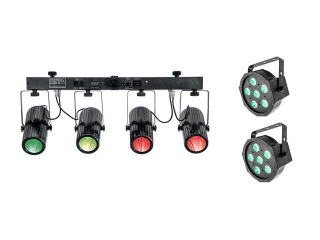 mpn20000832-eurolite-set-2x-led-sls-6-tcl-spot-+-led-qdf-bar-rgbaw-light-set-MainBild