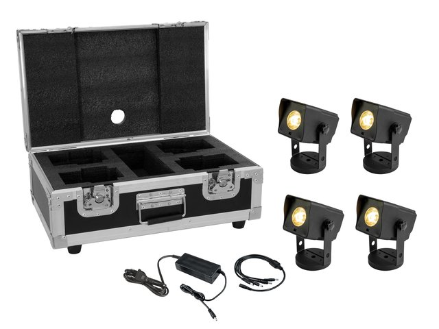 mpn20000834-eurolite-set-4x-akku-dot-1-rgb-ww-quickdmx-bk-+-charger-+-case-MainBild