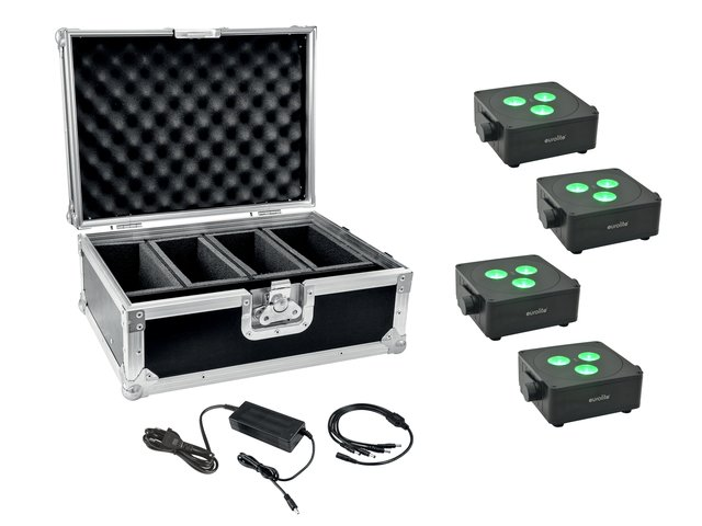 mpn20000858-eurolite-set-4x-akku-ip-flat-light-3-bk-+-charger-+-case-MainBild