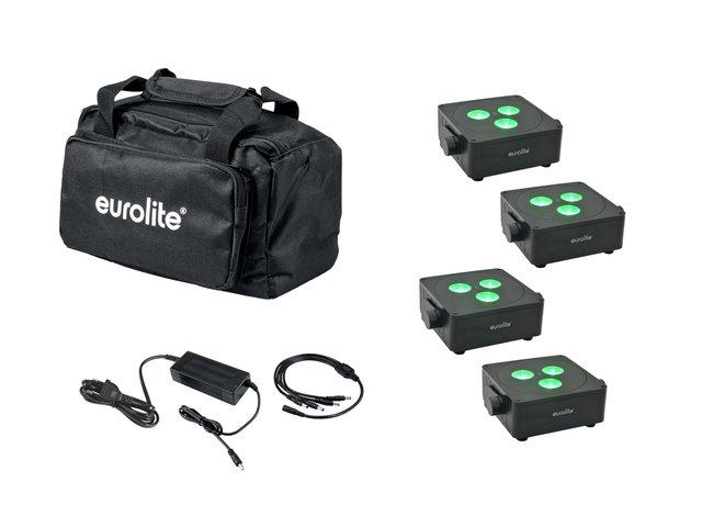 mpn20000860-eurolite-set-4x-akku-ip-flat-light-3-bk-+-charger-+-soft-bag-MainBild