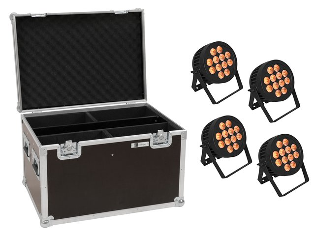 mpn20000880-eurolite-set-4x-led-ip-par-12x8w-qcl-spot-+-case-MainBild