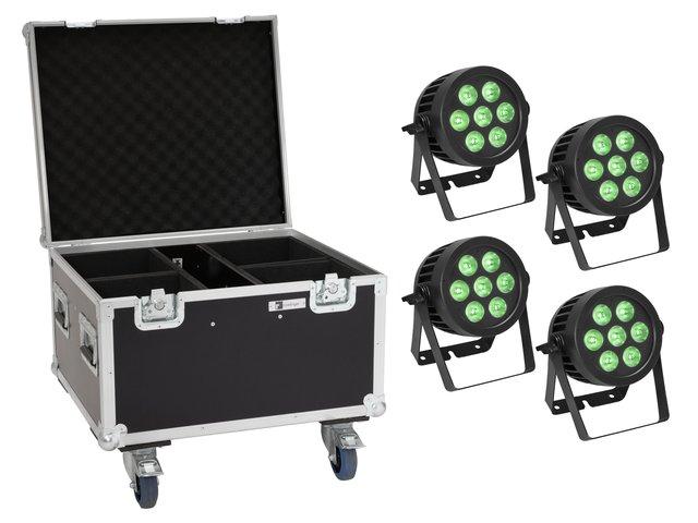 mpn20000882-eurolite-set-4x-led-ip-par-7x9w-scl-spot-+-case-with-wheels-MainBild