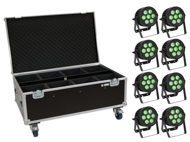 mpn20000887-eurolite-set-8x-led-ip-par-7x8w-qcl-spot-+-case-with-wheels-MainBild