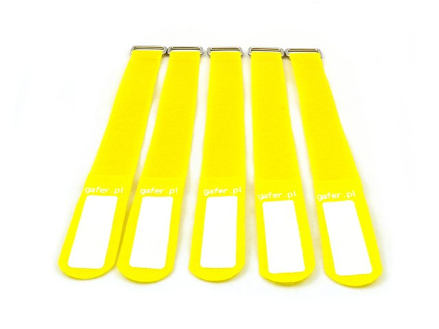 mpn3000608y-gaferpl-tie-straps-25x400mm-5-pieces-yellow-MainBild