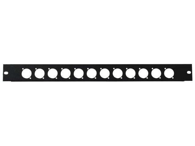 mpn30100655-omnitronic-front-panel-z-19-12-x-xlr-d-type-1u-MainBild