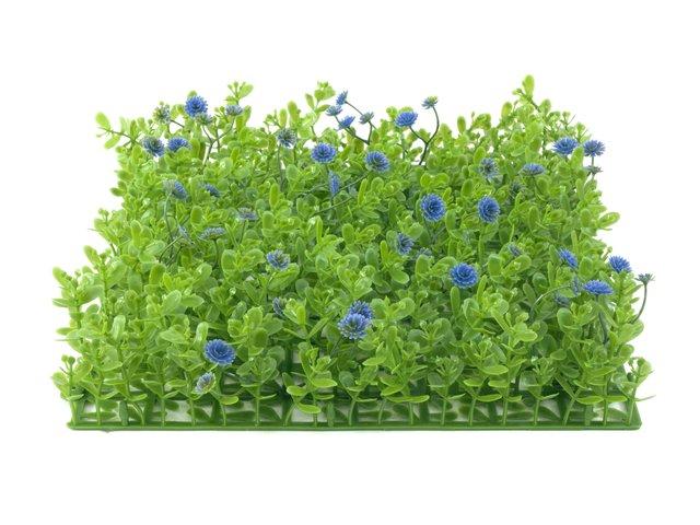 mpn82600088-europalms-grass-mat-artificial-green-purple-25x25cm-MainBild