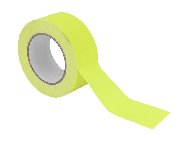 mpn30005471-gaffa-tape-50mm-x-25m-neon-yellow-uv-active-MainBild