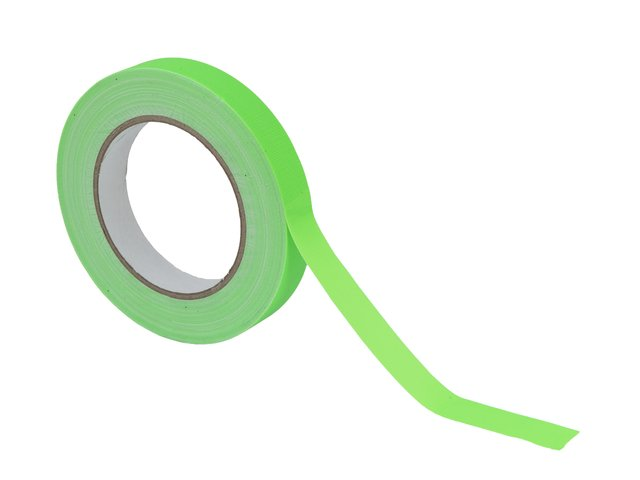 mpn30005482-gaffa-tape-19mm-x-25m-neon-green-uv-active-MainBild