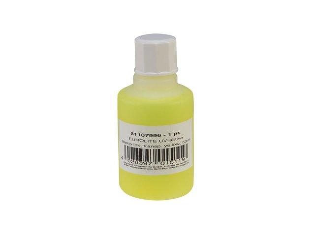 mpn51107996-eurolite-uv-active-stamp-ink-transparent-yellow-50ml-MainBild