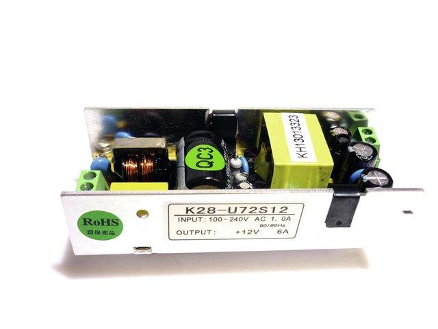 Pcb (Power supply) 12V/6A (K28-U72S12)