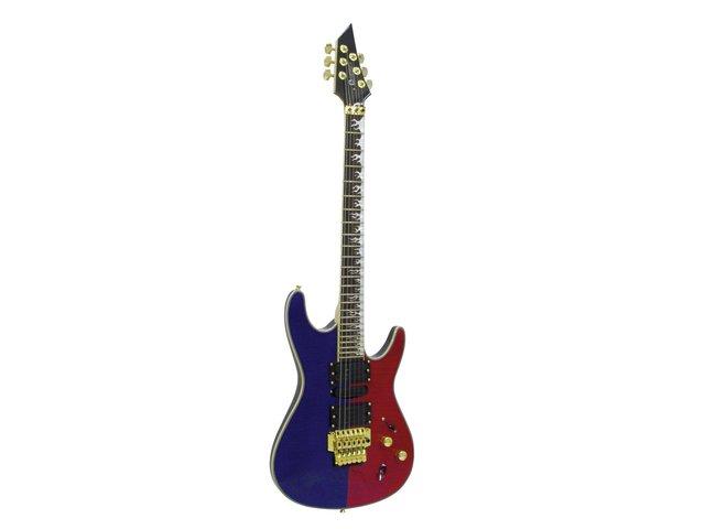 mpn26215570-dimavery-fr-521-e-guitar-blue-red-quilt-MainBild