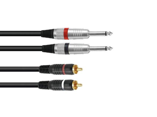 mpn30225212-omnitronic-adaptercable-2xjack-2xrca-1m-bk-MainBild