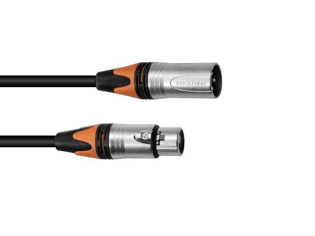 mpn30227845-psso-xlr-cable-col-3pin-3m-bk-neutrik-MainBild