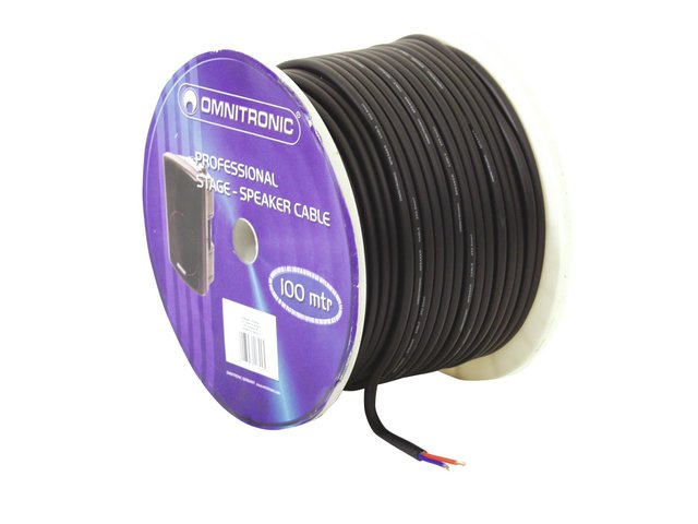 mpn3030021k-omnitronic-speaker-cable-2x25-100m-bk-durable-MainBild