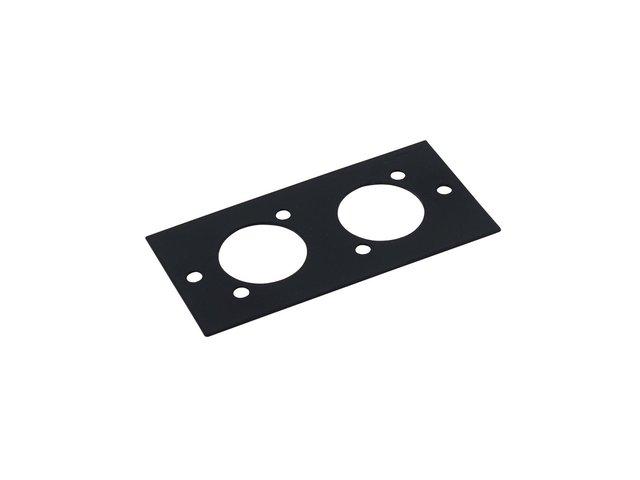 mpn30050020-omnitronic-modul-2he-2x-d-type-stecker-44x88mm-MainBild