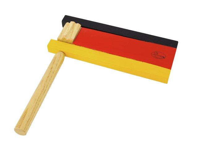 mpn26055311-dimavery-ratsche-schwarz-rot-gold-MainBild