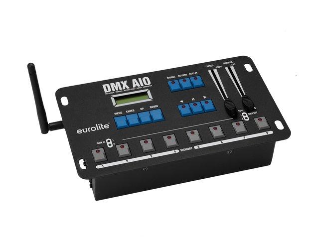 DMX AIO Recorder, Merger, Artnet Node, Signal Converter