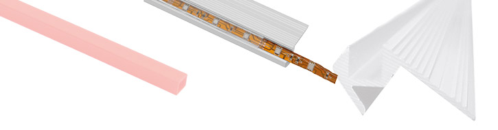 Accessories for strips & tube lights