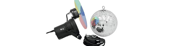 Mirror ball sets