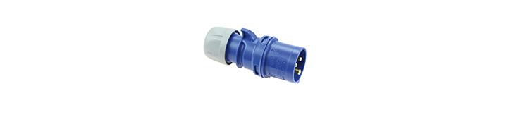 CEE-plug connectors 400V