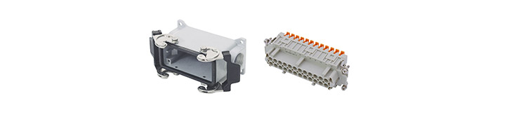 High-voltage multiple plug connectors