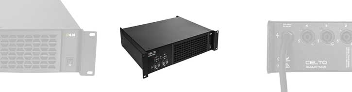 P Serie amplifiers