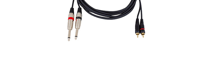 Audiokabel konfektioniert