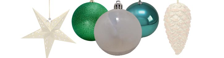 Christmas baubles & tree decoration